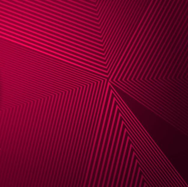 Abstracte kleurrijke geometrische lijnen achtergrond Gratis Vector