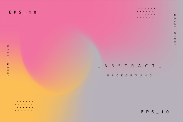 Abstracte kleurrijke gradiënt holografische achtergrond Premium Vector