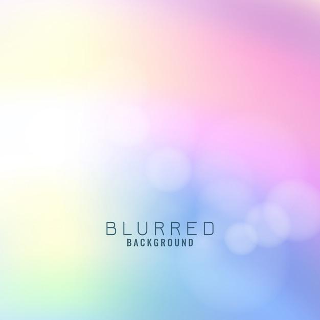 Abstracte kleurrijke onscherpe achtergrond Gratis Vector