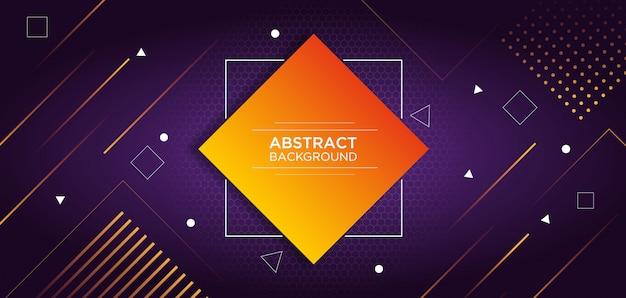 Abstracte kleurrijke sjabloon achtergrond Premium Vector