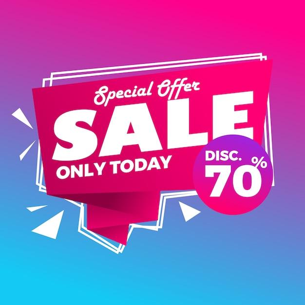 Abstracte kleurrijke super verkoop moderne achtergrond Premium Vector