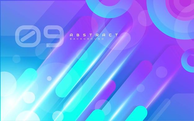 Abstracte kleurrijke vormen achtergrond Gratis Vector