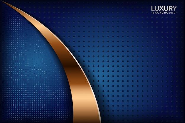 Abstracte koninklijk blauwe achtergrond Premium Vector