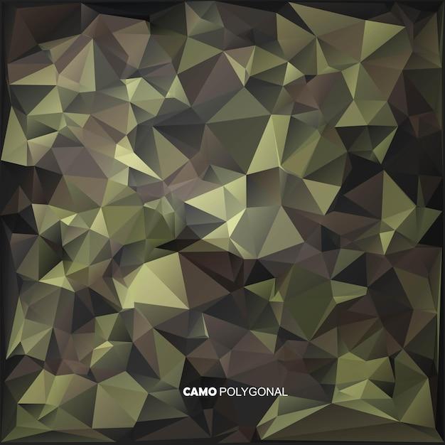 Abstracte laag poly gemaakt van geometrische driehoeken vormen. Premium Vector
