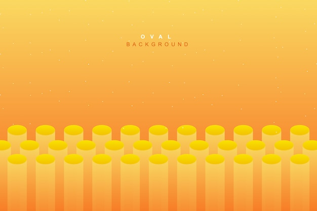 Abstracte levendige vloeibare gele achtergrond Premium Vector
