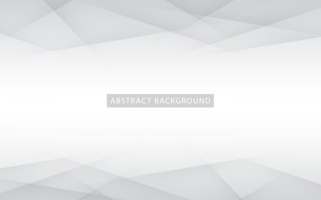 Abstracte licht zilveren achtergrond Premium Vector