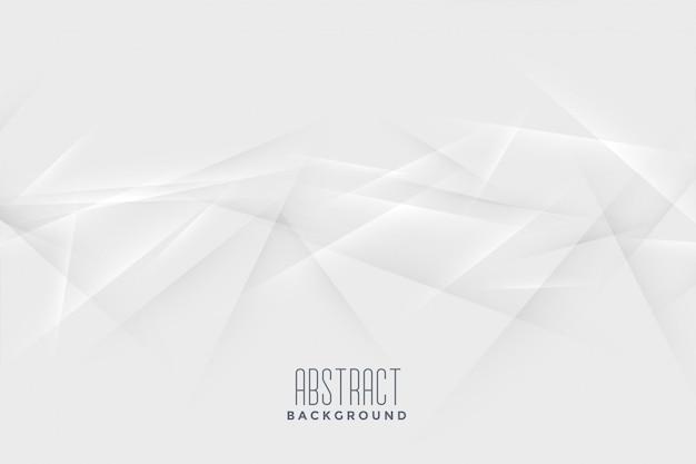 Abstracte lijnen chaos witte achtergrond Gratis Vector