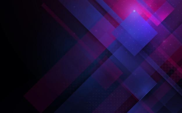Abstracte lijnen technologie hi-tech futuristische digitale innovatie achtergrond Premium Vector
