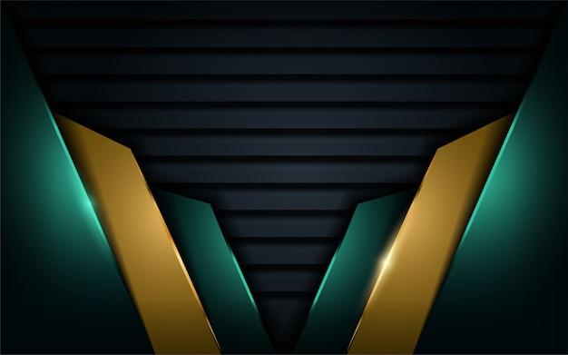 Abstracte luxe moderne achtergrond Premium Vector