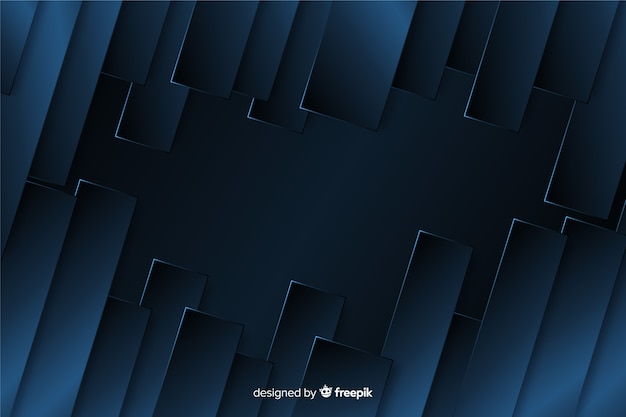 Abstracte metaalblauwe textuurachtergrond Gratis Vector