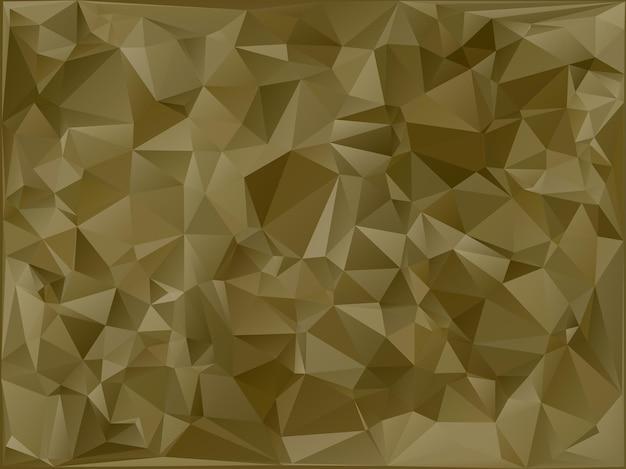 Abstracte militaire camouflage achtergrond gemaakt van geometrische driehoeken vormen. veelhoekige stijl. Premium Vector