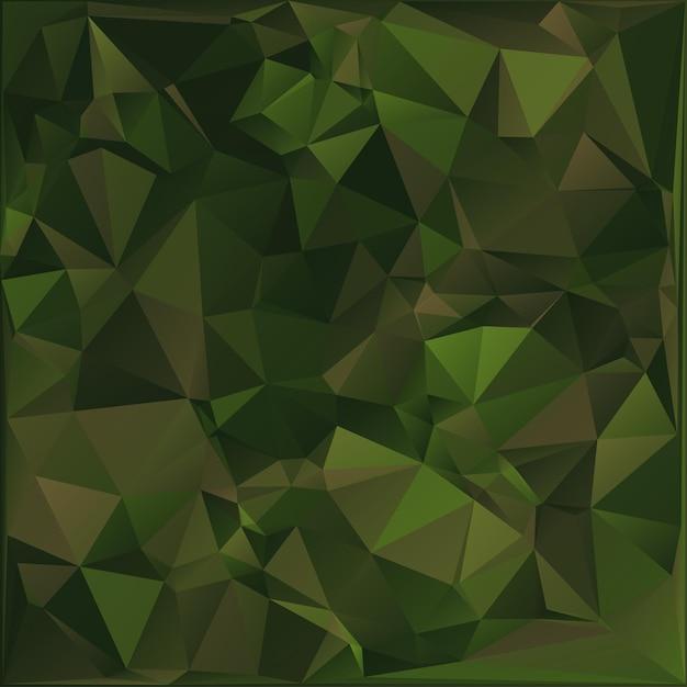 Abstracte militaire camouflage achtergrond. veelhoekige stijl. Premium Vector