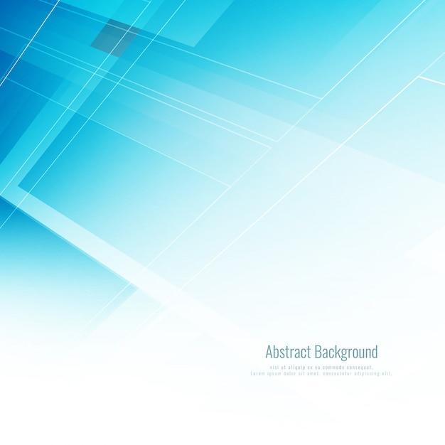 Abstracte moderne blauwe kleur technologische achtergrond Gratis Vector