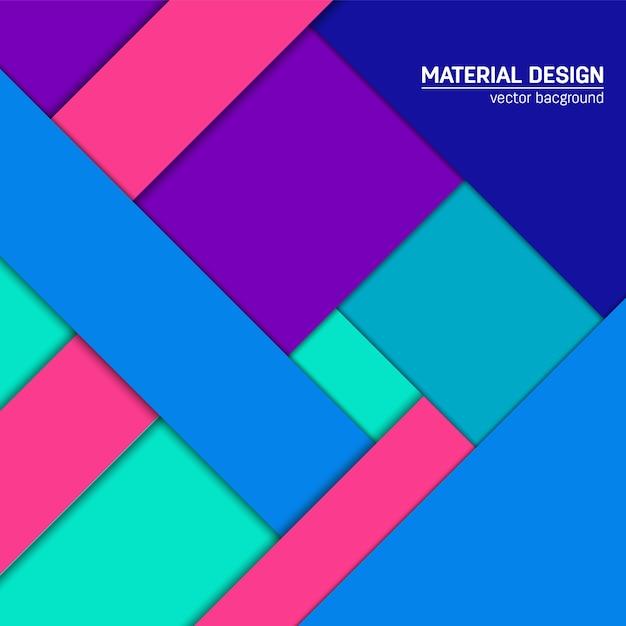 Abstracte moderne geometrische achtergrond Premium Vector