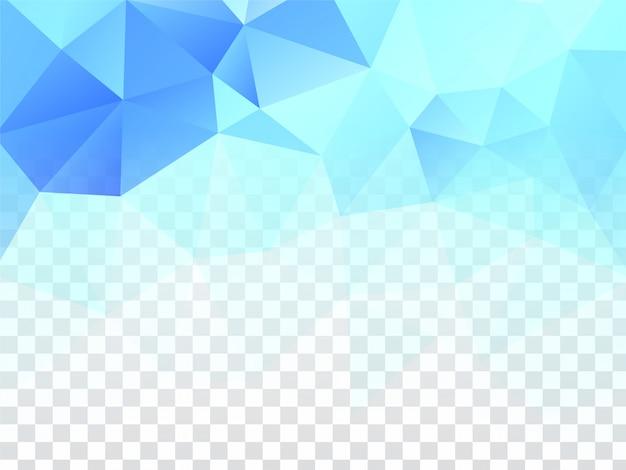 Abstracte moderne geometrische transparant Gratis Vector