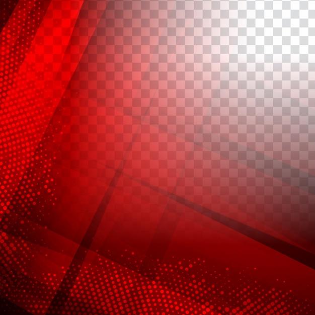 Abstracte moderne rode geometrische veelhoekige achtergrond Gratis Vector