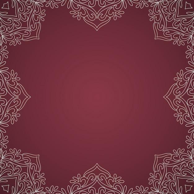 Abstracte mooie luxe roze achtergrond Gratis Vector
