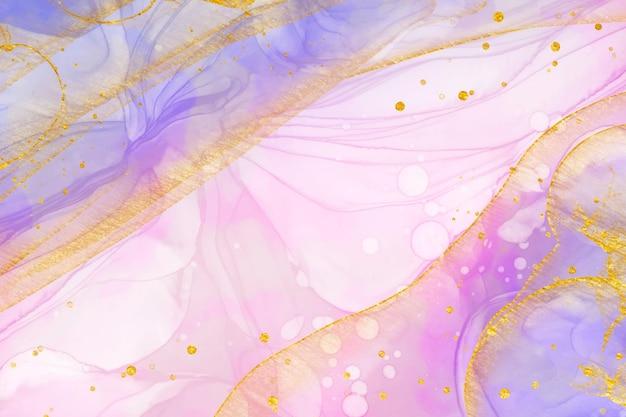 Abstracte olieachtige achtergrond roze verloop Gratis Vector