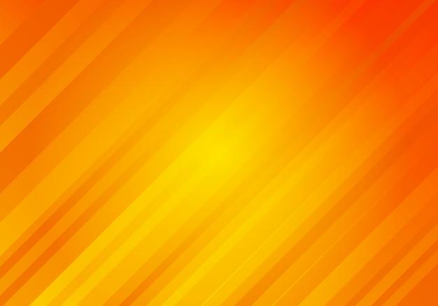 Abstracte oranje achtergrond met diagonale strepen Premium Vector