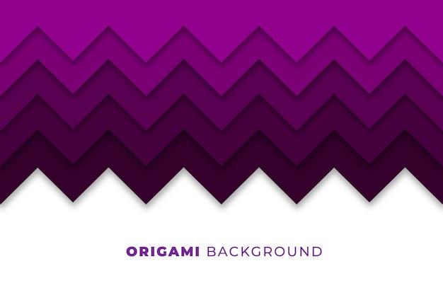 Abstracte origami achtergrond Gratis Vector