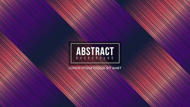 Abstracte paarse achtergrond met kleurovergang lijnen Premium Vector