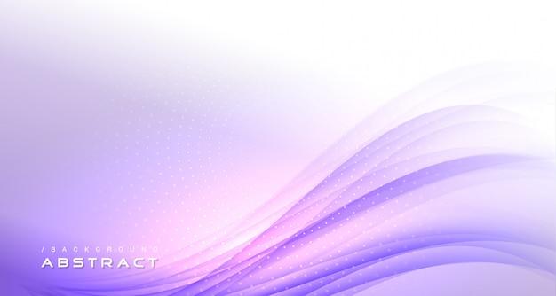 Abstracte paarse golvende moderne lichte achtergrond Premium Vector