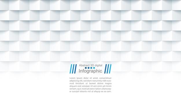 Abstracte papieren sjabloon Premium Vector