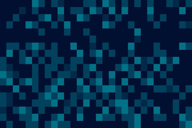 Abstracte pixel regen schermbeveiliging Gratis Vector