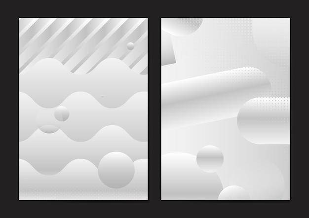 Abstracte poster sjabloon Gratis Vector