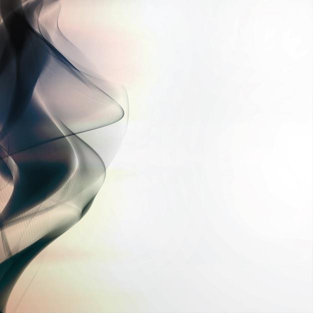 Abstracte rookachtergrond Premium Vector