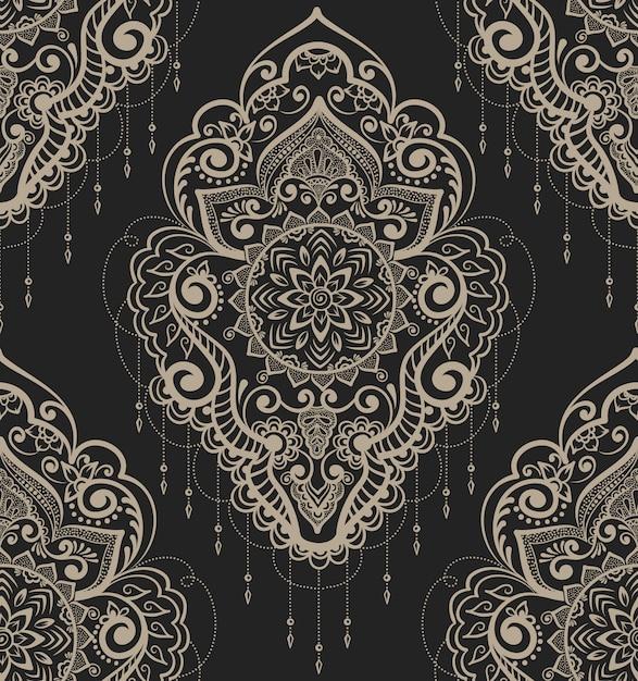 Abstracte sierelementillustratie Gratis Vector