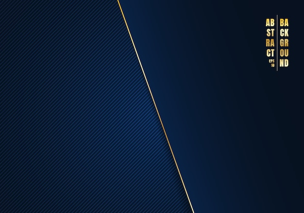 Abstracte sjabloon diagonale lijnen blauwe achtergrond Premium Vector