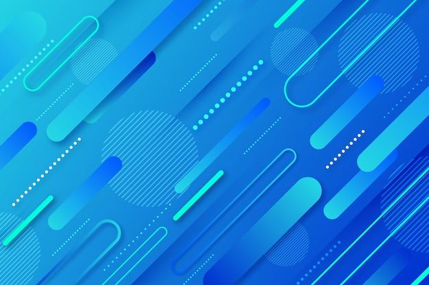 Abstracte stijl klassieke blauwe achtergrond Gratis Vector