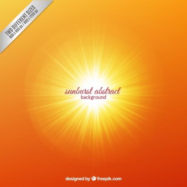 Abstracte sunburst achtergrond Gratis Vector
