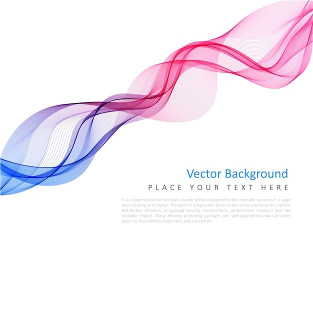 Abstracte vector kleurrijke achtergrond Gratis Vector
