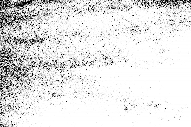 Abstracte vector zwart-witte grunge oppervlaktetextuurachtergrond. Premium Vector