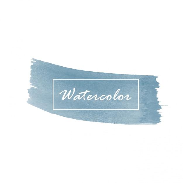 Abstracte waterverfachtergrond. Premium Vector