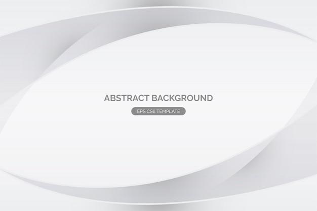 Abstracte witte achtergrond Gratis Vector