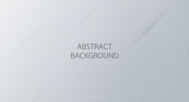 Abstracte witte achtergrond Premium Vector
