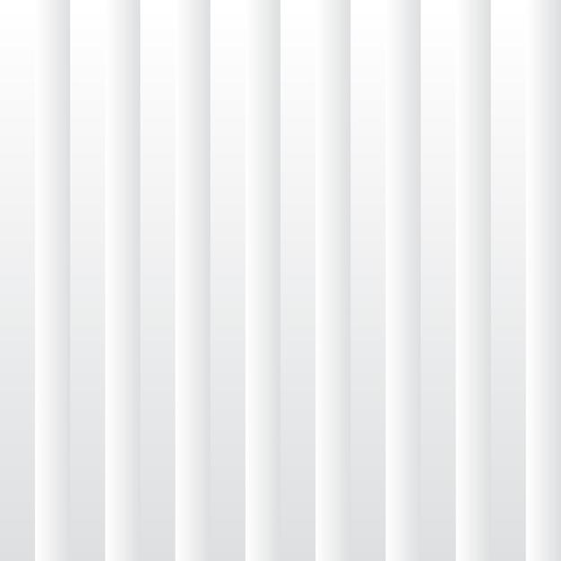 Abstracte witte gradiënt gestreepte achtergrond Premium Vector