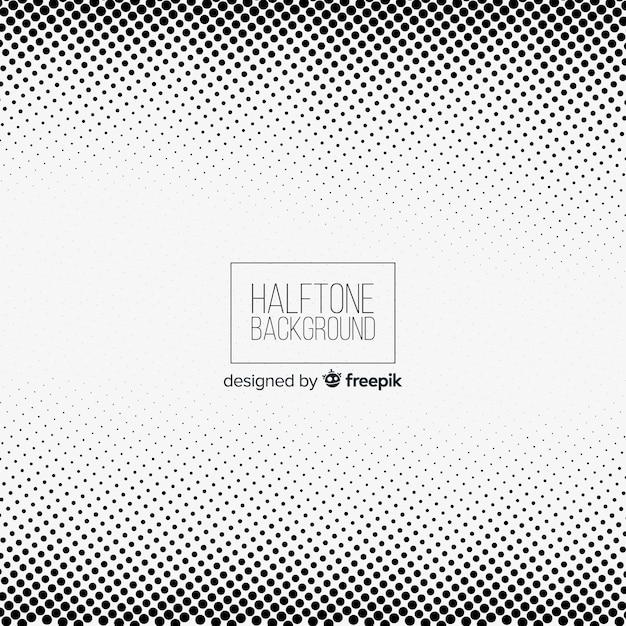 Abstracte witte halftone achtergrond Gratis Vector
