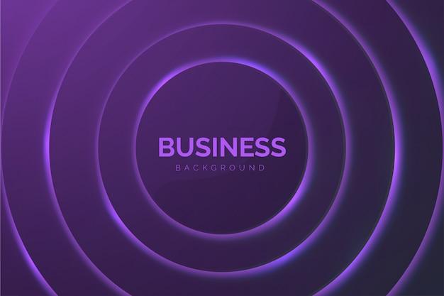 Abstracte zakelijke achtergrond met paarse cirkels Gratis Vector