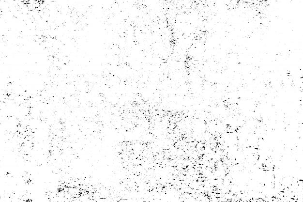 Abstracte zwart-witte grunge oppervlaktetextuurachtergrond Premium Vector