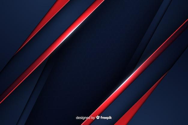 Abstracte zwarte achtergrond met diagonale lijnen Gratis Vector