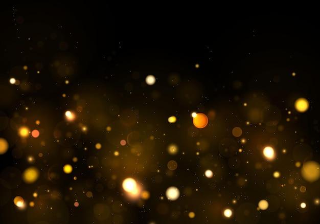 Achtergrond abstract zwart en wit of zilver glitter. stof wit. sprankelende magische stofdeeltjes. magisch concept. Premium Vector