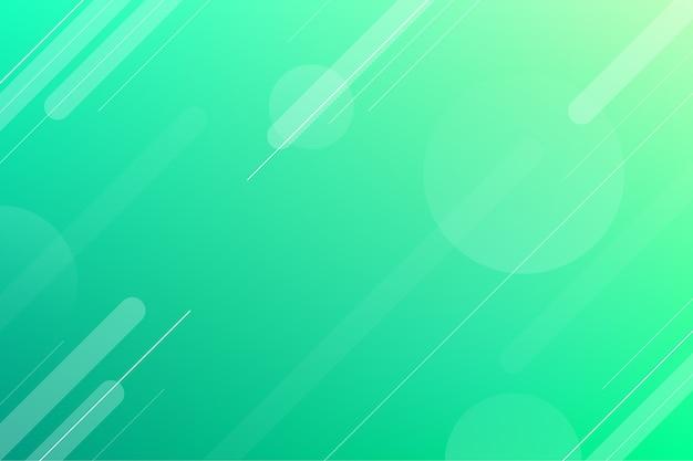 Achtergrond gradiënt groene tinten achtergrond Gratis Vector