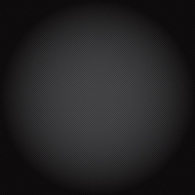 Achtergrond illustratie van een carbon fiber patroon Gratis Vector