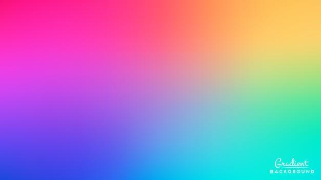 Achtergrond met achtergrond met kleurovergang Gratis Vector