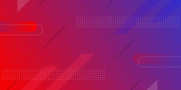 Achtergrond met kleurovergang geometrische vorm Premium Vector