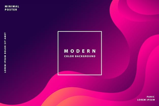 Achtergrond met kleurovergang modern met kleurrijke stijl kleurverloop Premium Vector